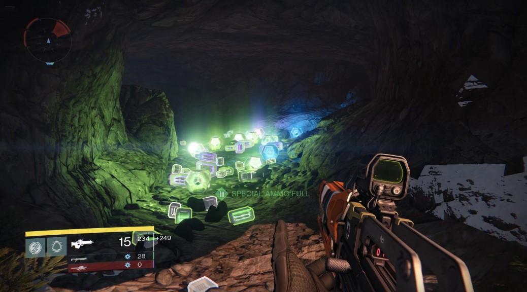 Destiny Loot Cave